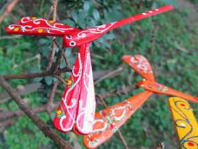 越南新娘竹蜻蜓工藝品